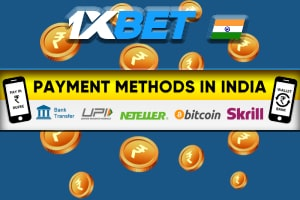 Deposits and withdrawals at 1xBet
