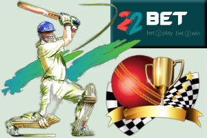22Bet India cricket matches