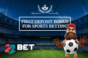 22Bet India welcome offer
