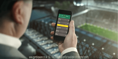 bet365 offers mobile betting to its customers