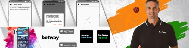 Betway apps for both Android and iOS