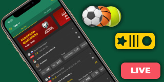 BetWinner's app interface
