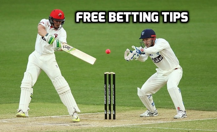 Here you can find free cricket betting tips