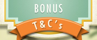 Read the terms for using an online bonus!