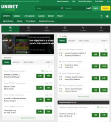 Unibet mobile browser version